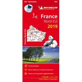 707 1/4 FRANCE NORD-EST 2019
