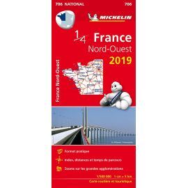 706 1/4 FRANCE NORD-OUEST 2019