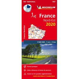 707 1/4 FRANCE NORD-EST 2020