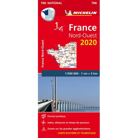 706 1/4 FRANCE NORD-OUEST 2020