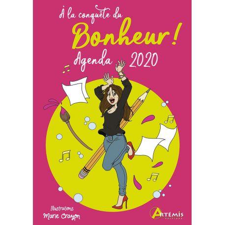AGENDA DE SAC 2020 À LA CONQUÈTE DU BONHEUR