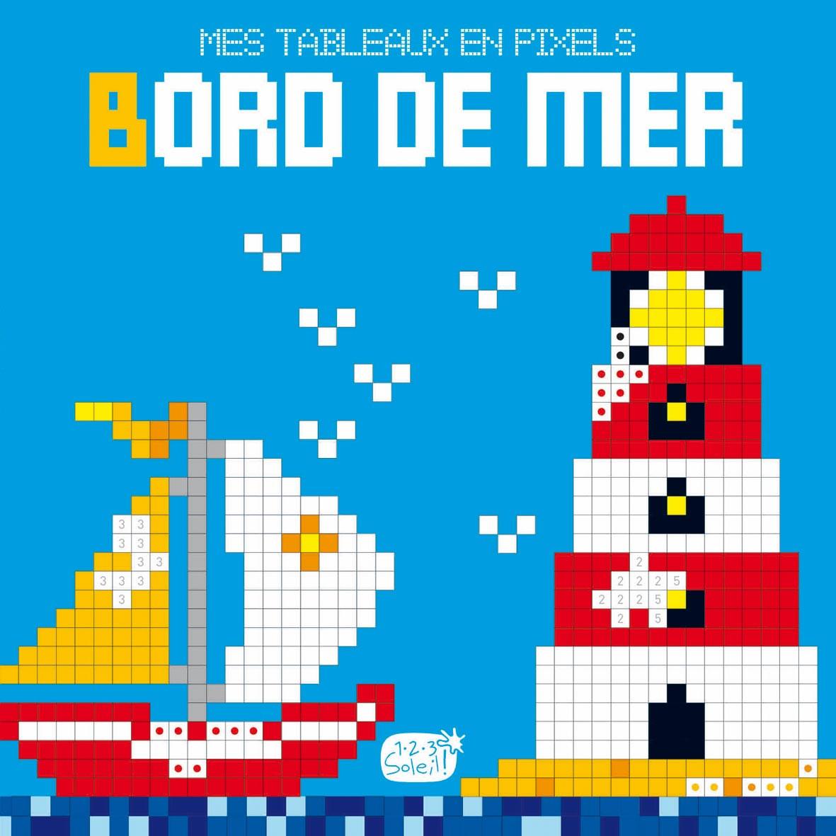 Livre Bord De Mer Mes Tableaux En Pixels Cartothequecom