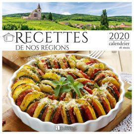 CALENDRIER RECETTES DE NOS RÉGIONS 2020