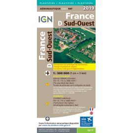 947 - FRANCE SUD OUEST 2019 PLASTIFIEE