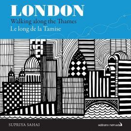 LONDON LE LONG DE LA TAMISE WALKING ALONG THE THAMES