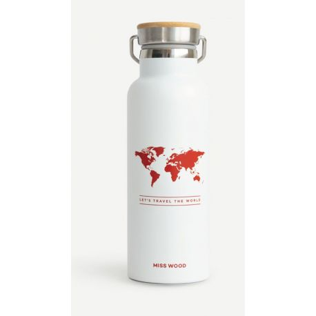 WORLD WHITE RED BOUTEILLE ISOTHERME