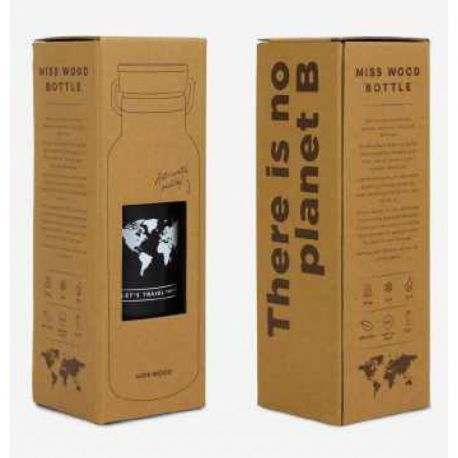WORLD BLACK BOUTEILLE ISOTHERME