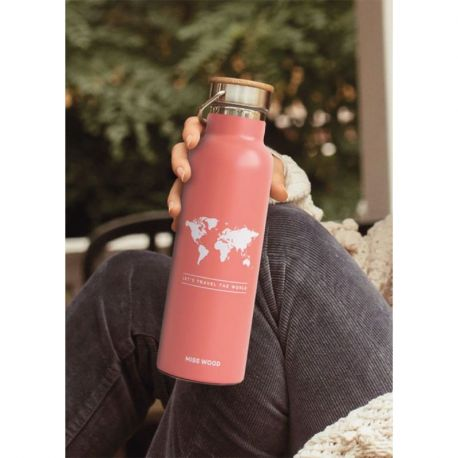 WORLD PINK BOUTEILLE ISOTHERME
