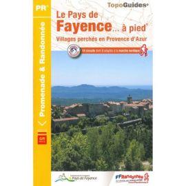 LE PAYS DE FAYENCE A PIED P832