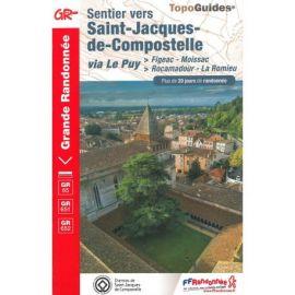 SENTIER ST JACQUES DE COMPOSTELLE FIGEAC/MOISSAC/ROCAMADOUR/ROMIEU