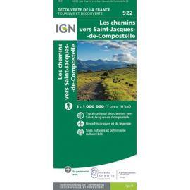 LES CHEMINS DE SAINT JACQUES DE COMPOSTELLE