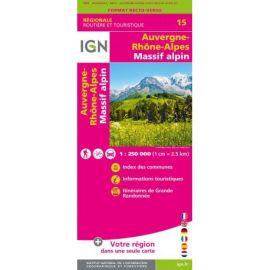 NR15 AUVERGNE RHONE-ALPES MASSIF ALPIN