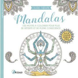 MANDALAS  COLORIE-THERAPIE