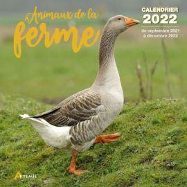 CALENDRIER ANIMAUX DE LA FERME 2022