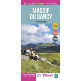 MASSIF DU SANCY  LA CARTE