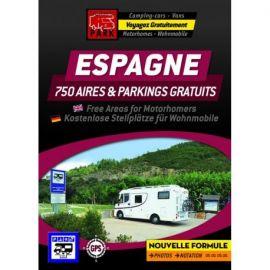 GUIDE ESPAGNE AIRES GRATUITES ET PARKING GRATUITS