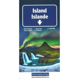 ISLANDE/ISLAND AVEC ILES FAROE 1/650 000