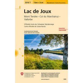 LAC DE JOUX MONT TENDRE - COL DU MARCHAIRUZ
