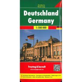 DEUTSCHLAND - GERMANY - 1/500 000