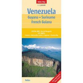 VENEZUELA - GUYANA - SURINAME - FRENCH GUYANA