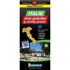 ITALIE CARTE DES AIRES GRATUITES