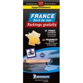 CARTE DES PARKINGS GRATUITS BORD DE MER FRANCE