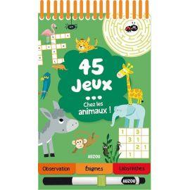 45 JEUX - CHEZ LES ANIMAUX !