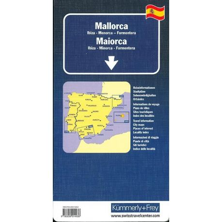 MAJORQUE IBIZA MENORCA FORMENTERA 1/150 000