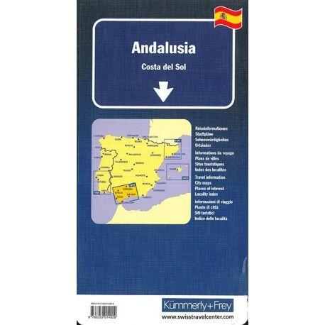 ANDALUSIEN COSTA DEL SOL 1/200 000