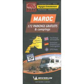 MAROC CARTE DES PARKINGS GRATUITS ET CAMPING