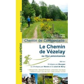 LE CHEMIN DE VÉZELAY OU LA VIA LEMOVICENSIS 2019-2020