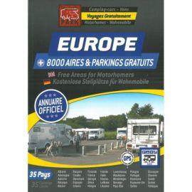 ANNUAIRE EUROPE DES AIRES GRATUITES CAMPING-CARS ET VANS