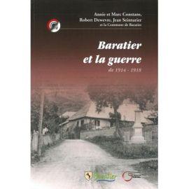 BARATIER ET LA GUERRE DE 1914-1918