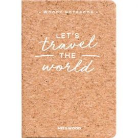 TRAVEL THE WORLD - CARNET DE NOTES A6 EN LIEGE