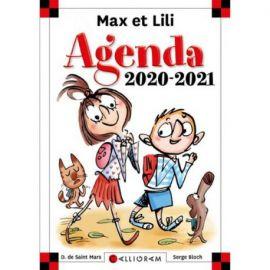 AGENDA SCOLAIRE 2020-2021 MAX ET LILI