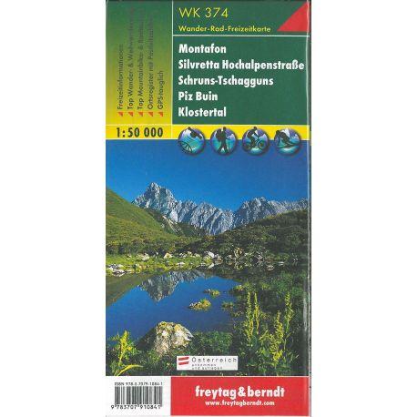 N° WK374 MONTAFON-SILVRETTA-SCHRUNS