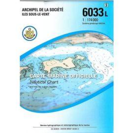 6033L ARCHIPEL DE LA SOCIETE ILES SOUS LE VENT