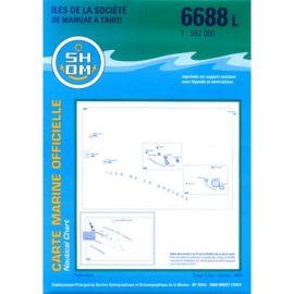 6688L ILES SOCIETE MANUAE A TAHITI PUBLICATION
