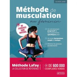 METHODE DE MUSCULATION AU FEMININ 80 EXERCICES SANS MATERIEL
