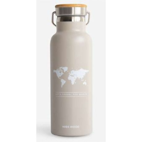 WORLD STONE GREY BOUTEILLE ISOTHERME