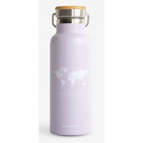 WORLD LIGHT PURPLE BOUTEILLE ISOTHERME
