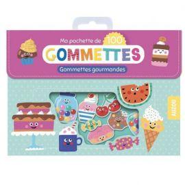 100 GOMMETTES - GOURMANDES