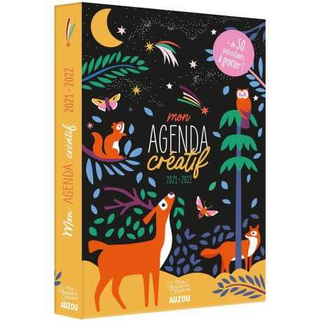 MON AGENDA CREATIF - A GRATTER