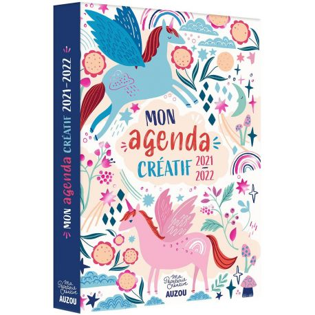 MON AGENDA CREATIF - A COLORIER 2021-2022