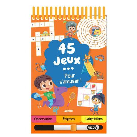 45 JEUX POUR S'AMUSER