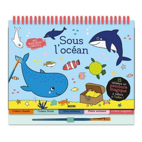 SOUS L'OCEAN - 15 TABLEAUX PEINTURE MAGIQUE