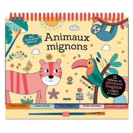 ANIMAUX MIGNONS - PEINTURE MAGIQUE 15 TABLEAUX