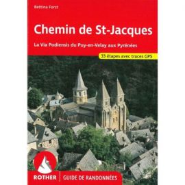 CHEMIN DE ST JACQUES FRANCE (FR)GPS VIA PODIENSIS PUY EN VELAY PYR