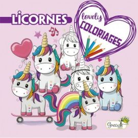 LICORNES - LOVELY COLORIAGES